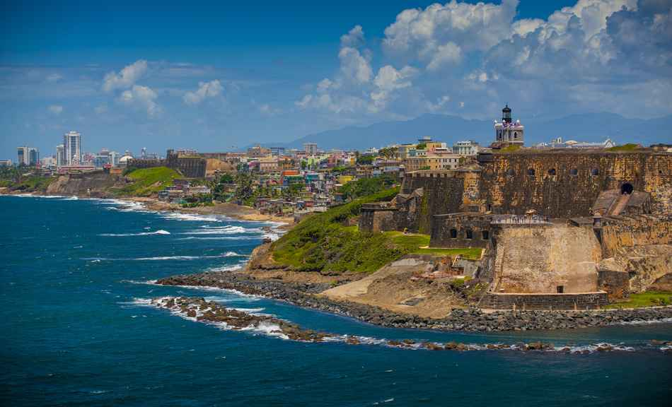 Puerto Rico - city and fort