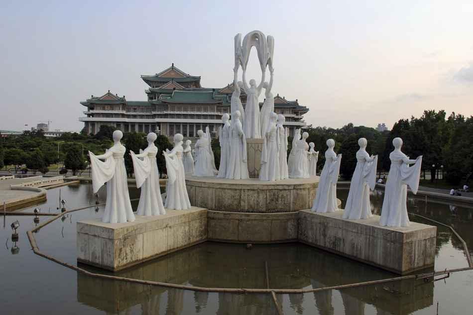 Mansudae Fountain Park, Pyongyang