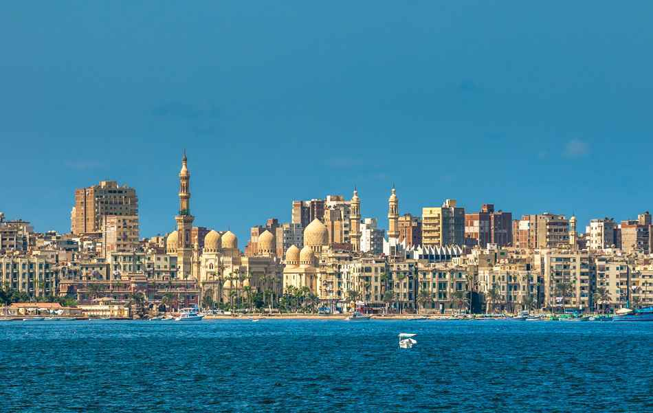 Alexandria Harbour, Egypt