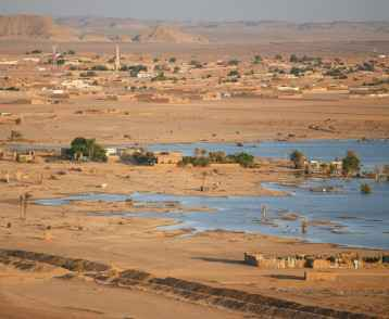 Border Town of Wadi Halfa, Sudan