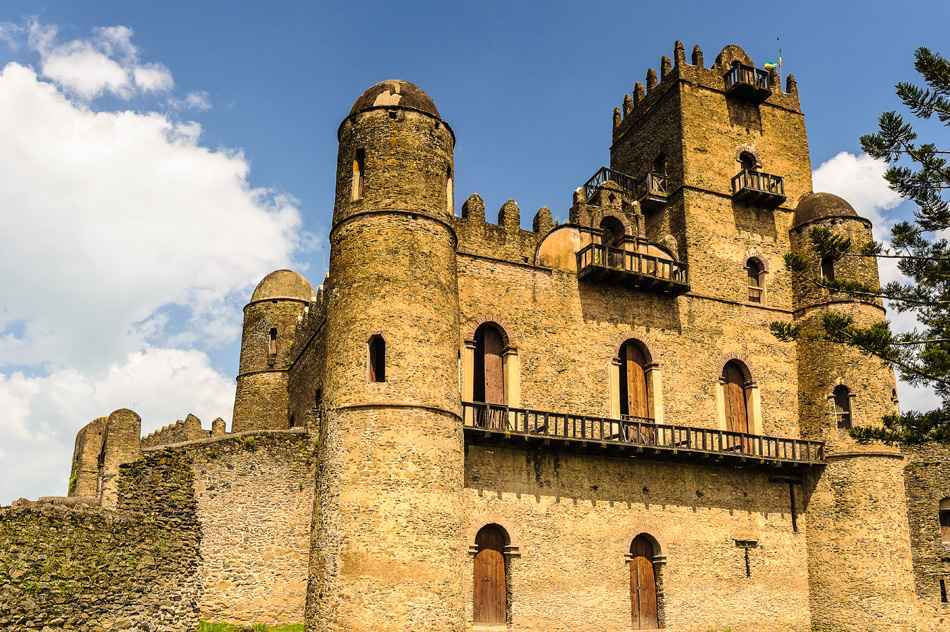 Gondar Castle,Ethiopia