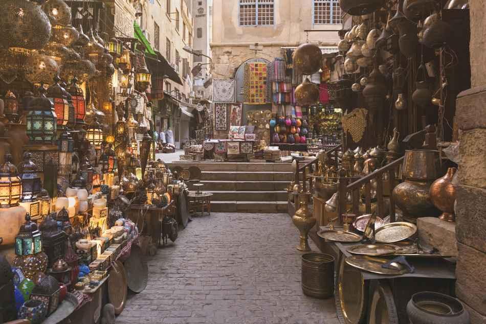 Khan al-Khalili Bazaar, Cairo