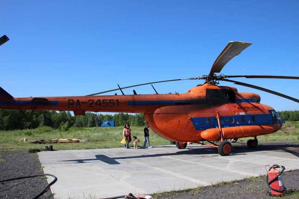 Kamchatka helicopter