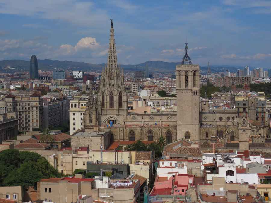 Barcelona skyline 1