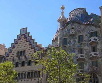 Casa Amatller and Casa Mila