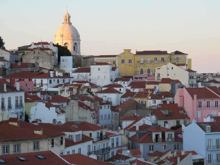 Lisbon panorama 1