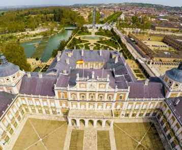 Palace Aranjuez, residence of King of Spain