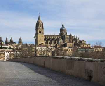 Roman bridge in Salamanca, Spain