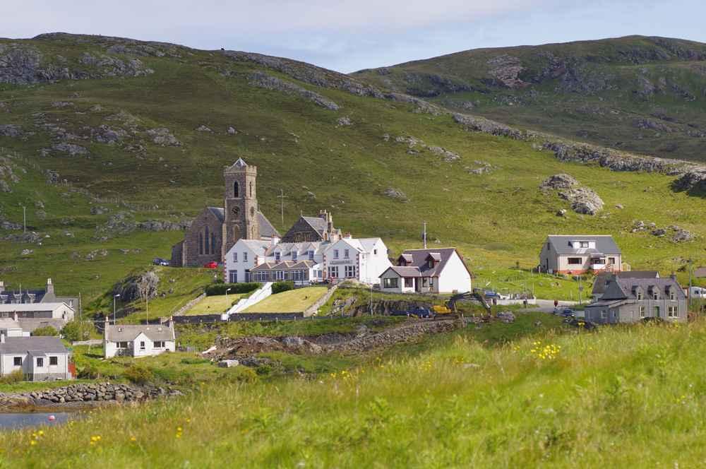 Castlebay, Barra, Outer Hebrides
