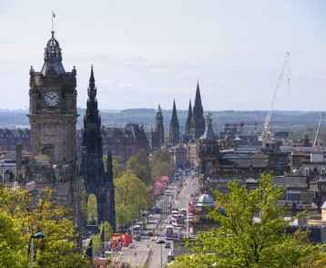Royal Mile / Architecture - Edinburg / Scotland