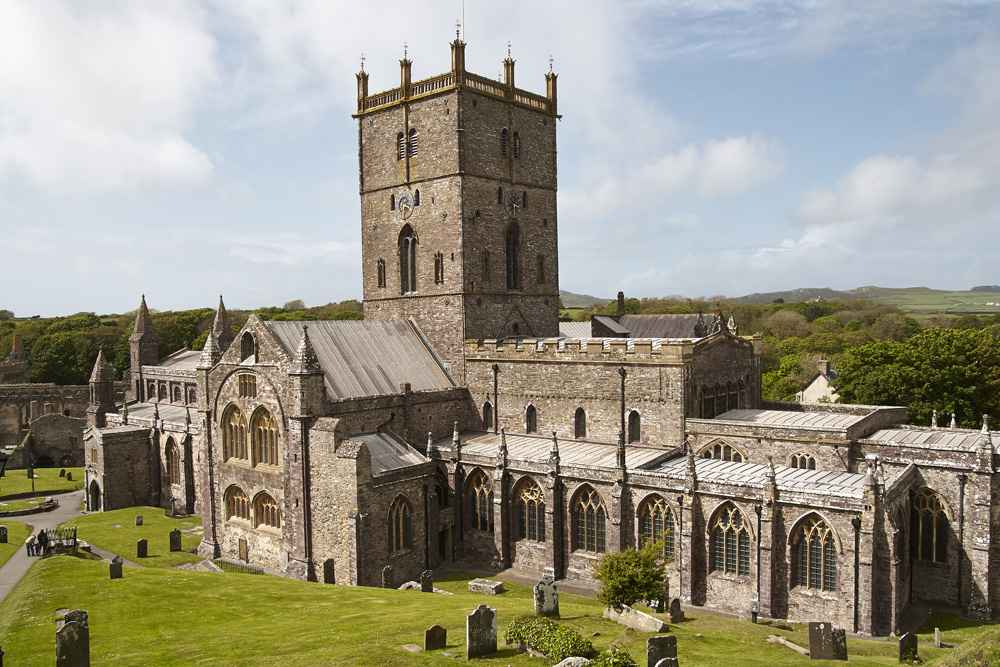 St Davids cathedrial