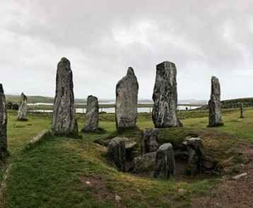 Stone circle, Stornoway, Isle of Lewis