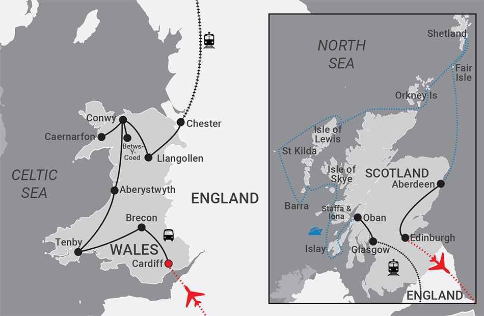 Wales & Scotland Tour
