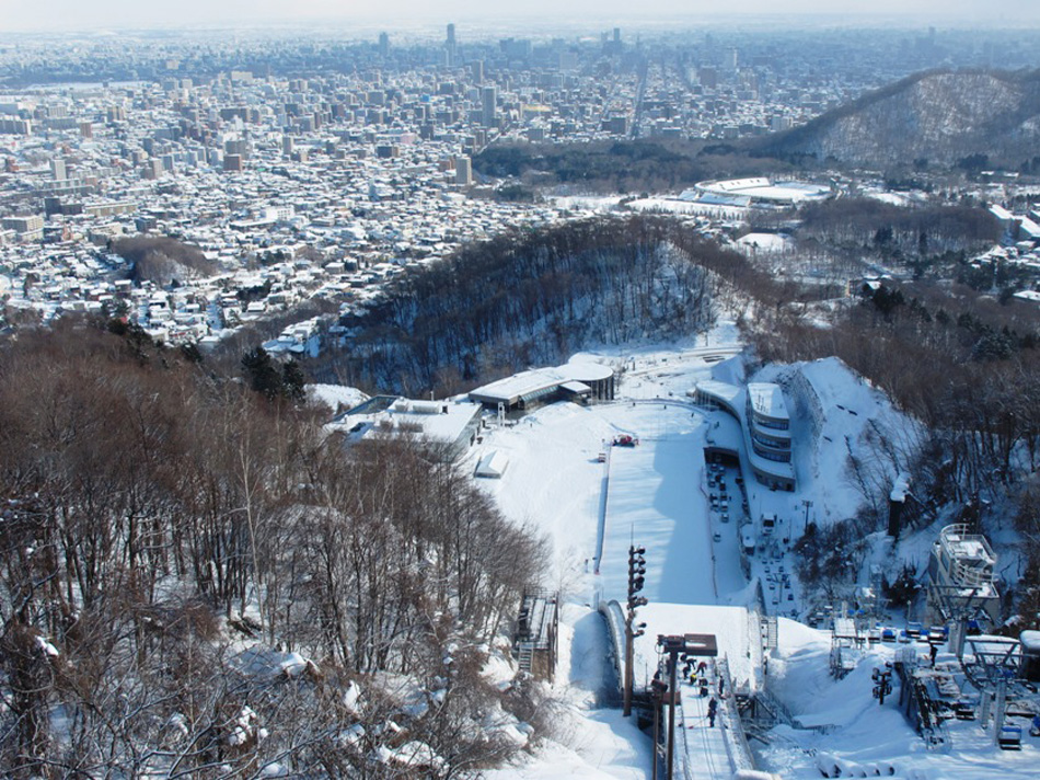 Sapporo from ski jump