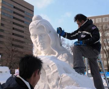 Snow carver-Sapporo