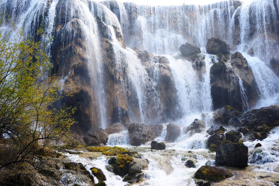 Waterfall landscape of China Jiuzhaigou