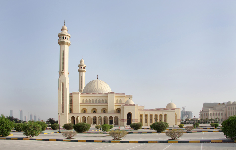 Al Fateh Mosque in bahrain. Also called as grand mosque