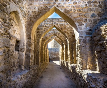 The Qal'at al-Bahrain, also known as the Bahrain Fort or Portugu