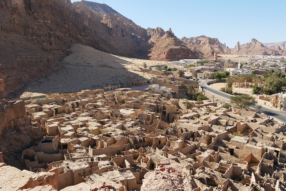 Al Ula Old Town West Saudi Arabia