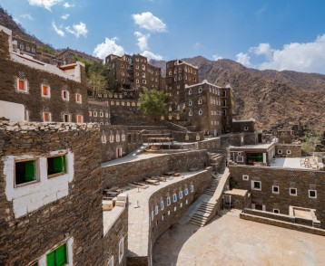 Rijal Almaa world heritage site in Asir region, Saudi Arabia