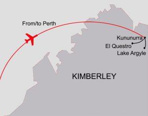 East Kimberley map