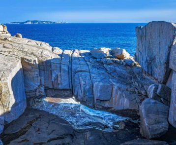 The Gap and the Natural Bridge is located at Albany, Torndirrup