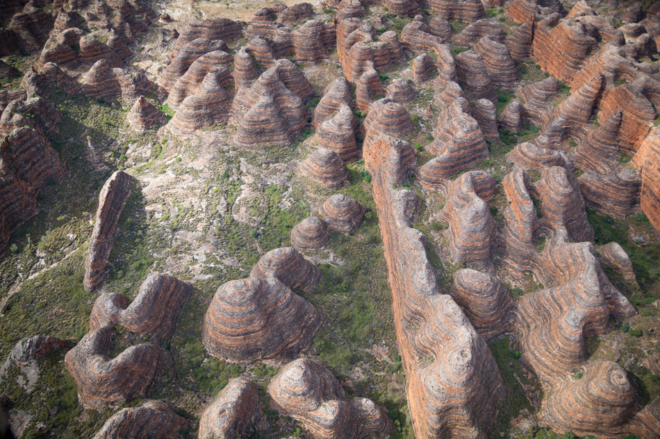 The Bungle Bungle Range in the Purnululu World Heritage Listed N