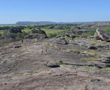 Ubirr rock art site in Kakadu National Park Northern Territory of Australia